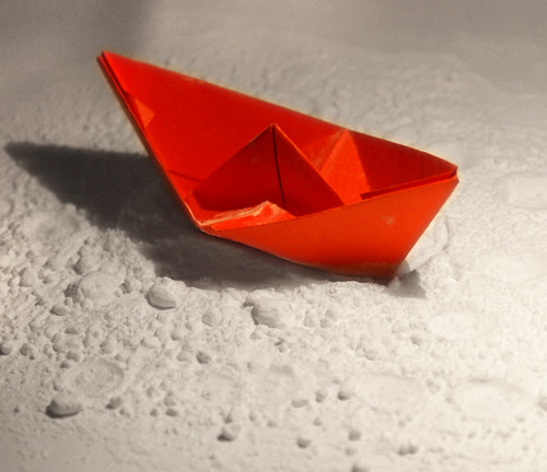 Boat on an icing sugar sea 43/365