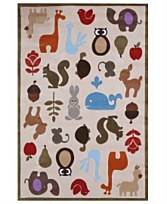 the estate of things chooses lil mo whimsy rug
