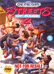front cover image for Streets of Rage 2