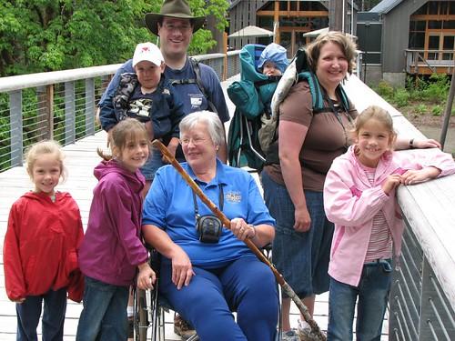 All of us and Grandma - grandpa took the photo