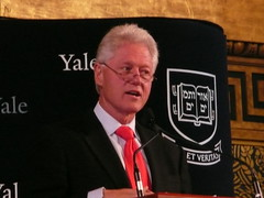 Bill Clinton Returns to Yale
