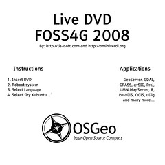 foss4g 2008 livedvd