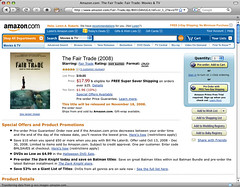 The Fair Trade movie at Amazon screenshot