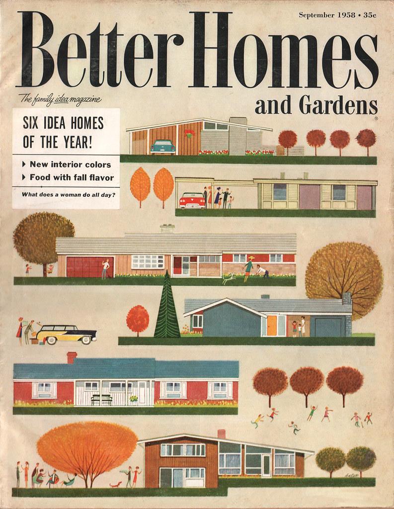 The Wardomatic Better Homes & Garden Sept 1958