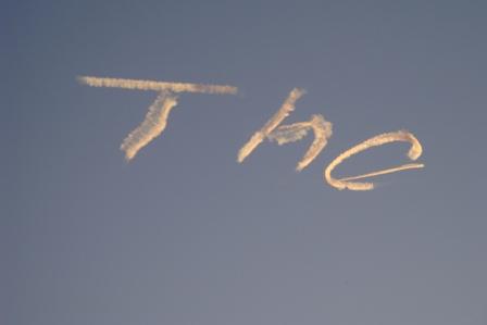 NYE09 - Sky writing
