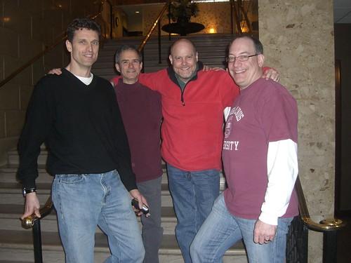 Dieter, Fred, me, Paul