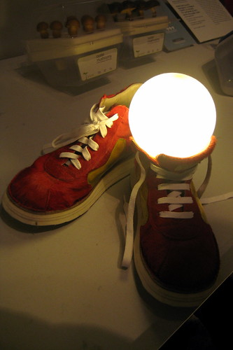NYC - MoMA: Design and the Elastic Mind - NSSs: Non-Stop Shoes by wallyg (flickr)