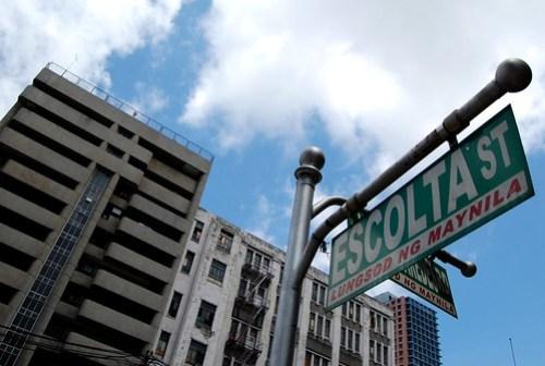 Escolta Street Binondo Manila