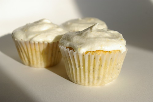 Earl Grey Cupcakes with Lemon Buttercream