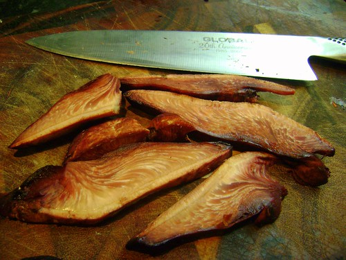 Beefsteak Fungus Slices