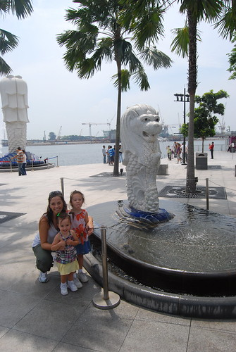 The Little Merlion