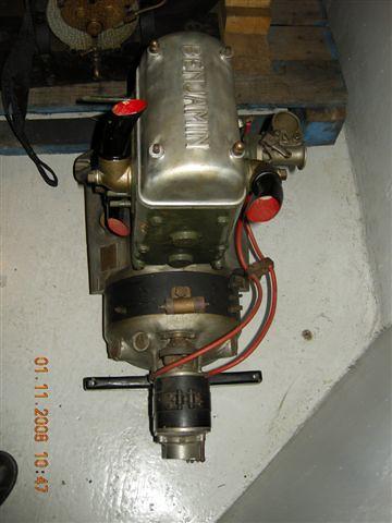 Benjamin 2 Zylinder Motor