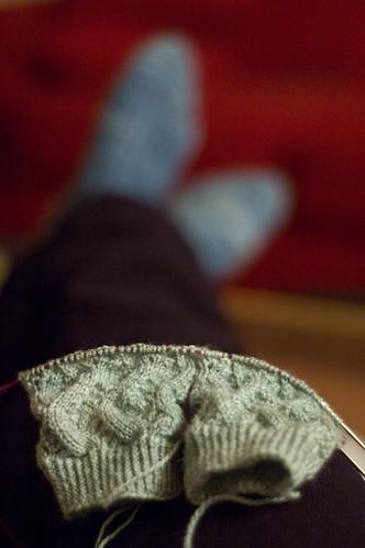 Day 114: knitterly (by bookgrl)