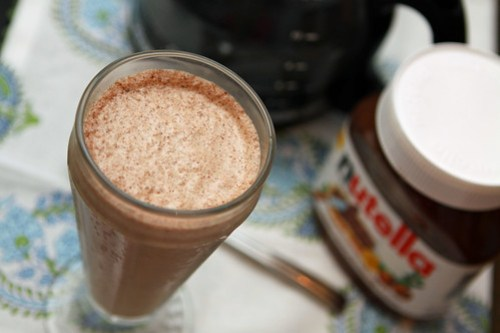 nutella coffee shake