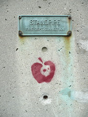 Standpipe with apple