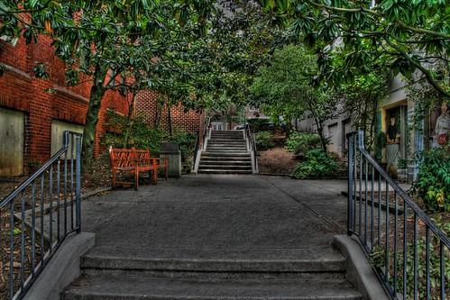 The Breezeway Courtyard