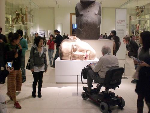 CIMG3622 British Museum Ron Mueck mask by enemyke.