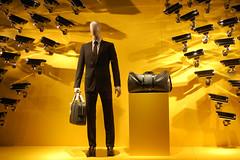 suitcase man