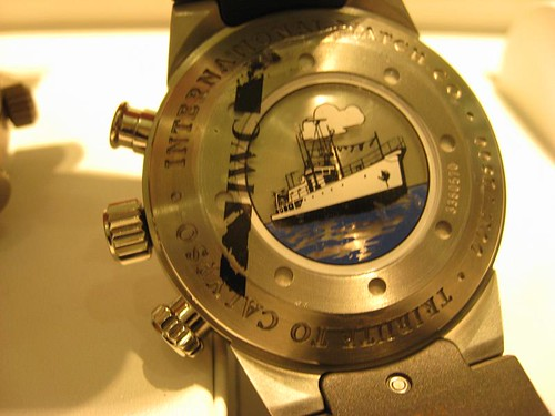 IWC Cousteau back