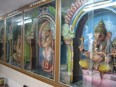 Various Vinayahars around the Sanctum Sanctorum