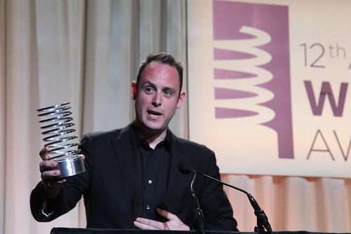 Richard Moross at the Webbys