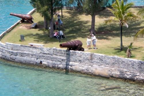 Docking in Bermuda