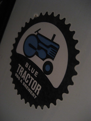 blue tractor bbq & brewery