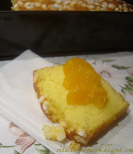 Pane dolce alle clementine e champagne