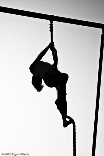 Rope climbing awesomeness
