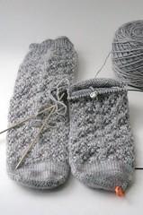 Snowflake Lace socks