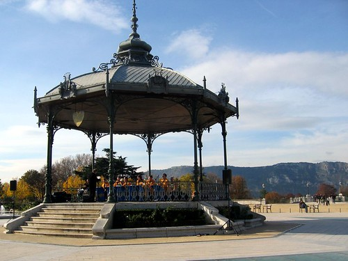 Kiosque at the Champ de Mars in Valence.