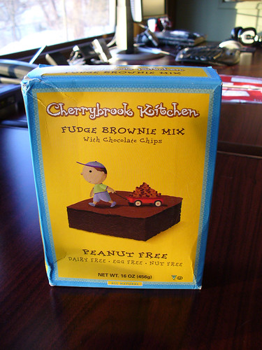 cherrybrook kitchen and bath design product review brownie mix vegan daemon 2008 12 24 brownies 0004