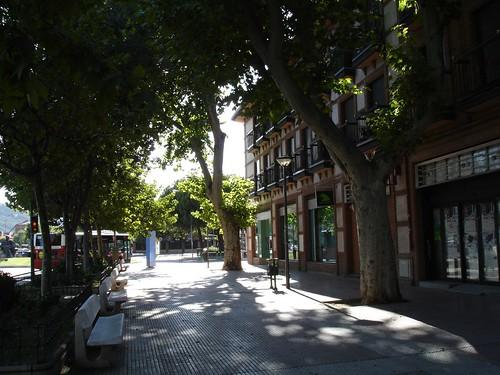 Alcalá a contraluz