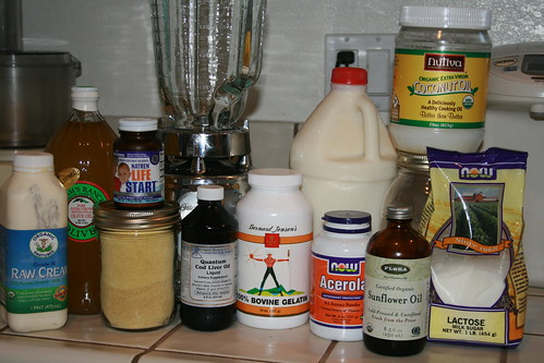 Ingredients for Homemade Baby Formula