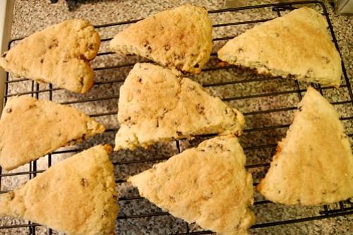 currant scones