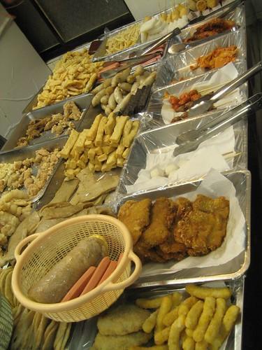 鹹酥雞攤/fried store