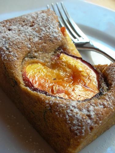 dimply peach cake