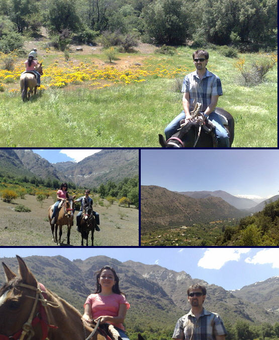 Horse Riding in Cajon Del Maipo