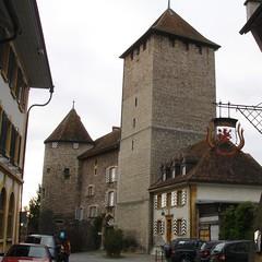 Bergfried und Wehrturm