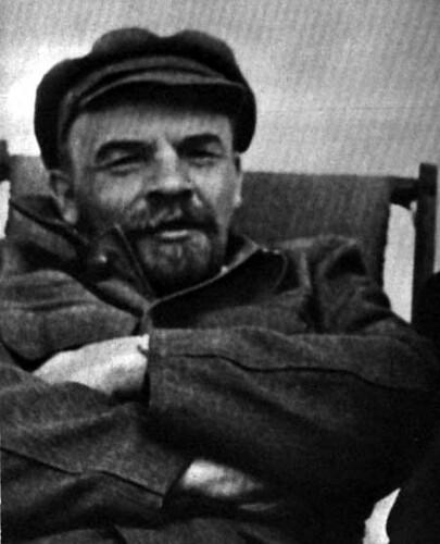 Lenin por El fondo del aire es rojo.