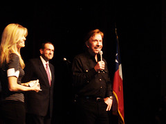 Chuck Norris, his wife, and Mike Huckabee