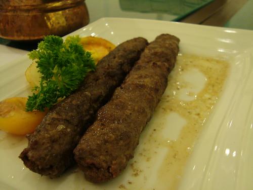 Beef Kebab at Kebab Factory