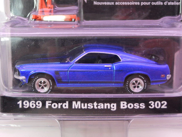 greenlight muscle car garage hobby edition 1969 ford mustang boss 302 (2)