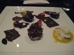 Tomato course - Dinner at Grant Achatz's Alinea in Chicago