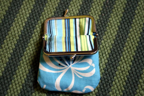 Matching coin bag