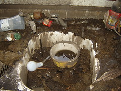 Flood sink