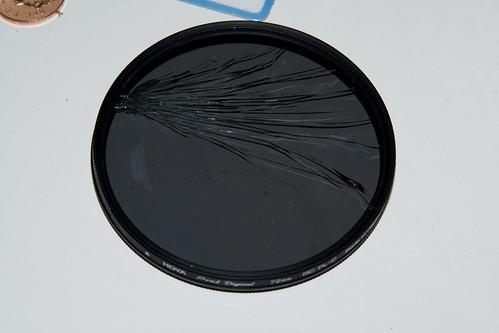 Cracked Lens Filter