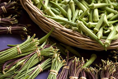 beans & okra (by bookgrl)