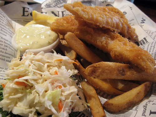 Fish and Chips @ Elephant and Castle #2
