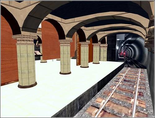 Un aperçu de latmopshère du métro de Moscou sur SL par David Ducasse